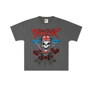 Bullet For My Valentine British Skull Youth T-Shirt