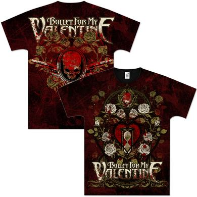Bullet For My Valentine Dead Roses All Over T-Shirt