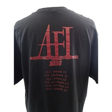 AFI Red Snake Tour Tee
