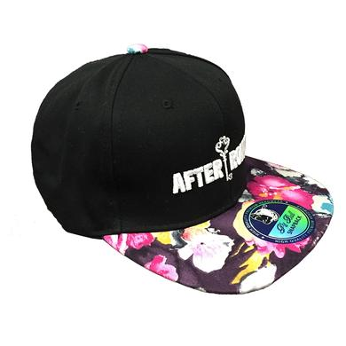 After Romeo World Black Floral Snapback