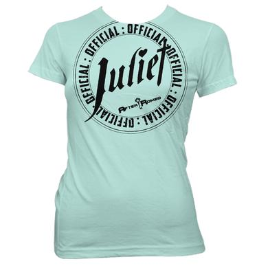 After Romeo World Official Juliet Mint Tee