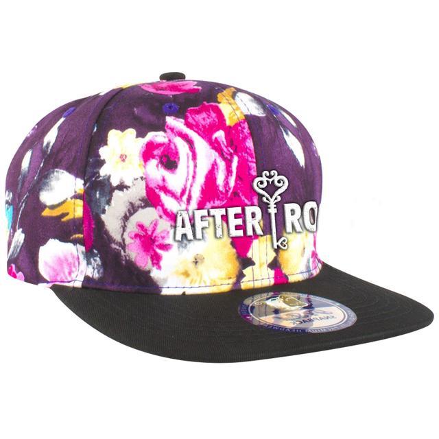 After Romeo World Floral Logo Snapback
