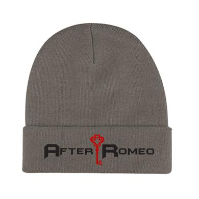 After Romeo World Grey Logo Beanie