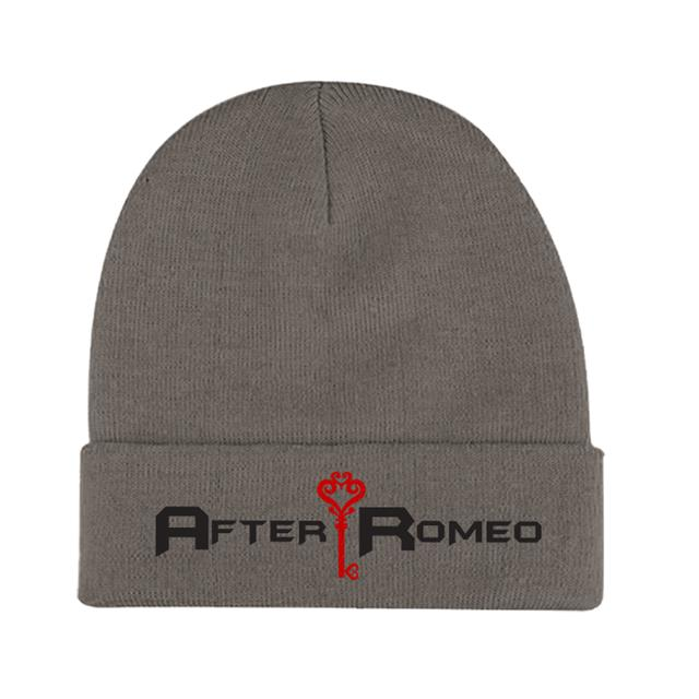 After Romeo World Grey Logo Beanie