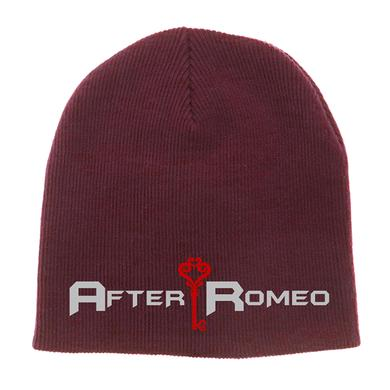 After Romeo World Maroon Logo Beanie