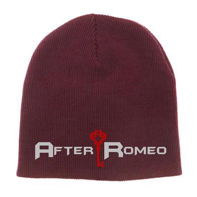 After Romeo World Maroon Logo Beanie