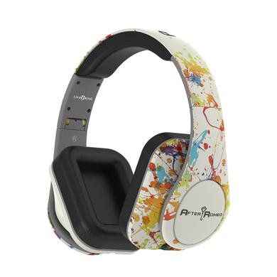 After Romeo World White Bluetooth Headphones