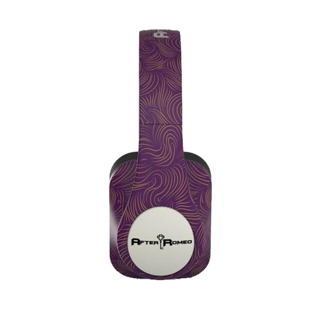 After Romeo World Purple Bluetooth Headphones