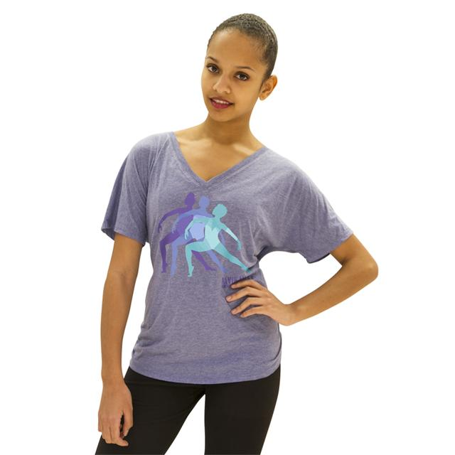 Alvin Ailey Women's Silhouettes Vneck