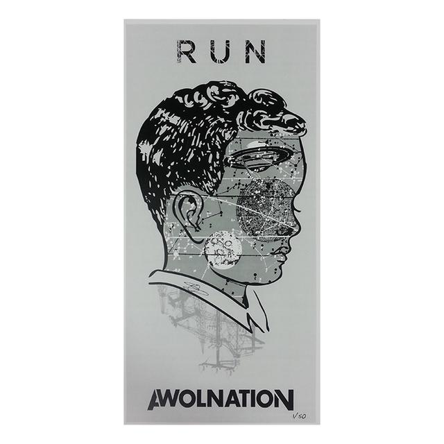 Awolnation Signed Limited Edition Poster