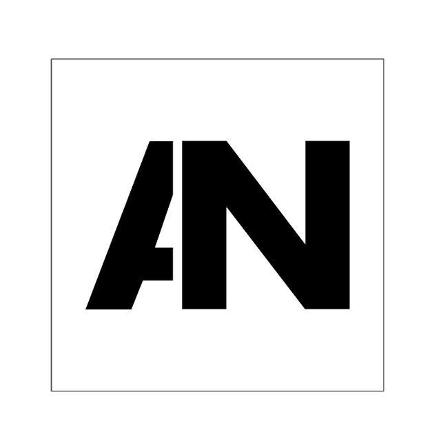 Awolnation AN Logo Decal