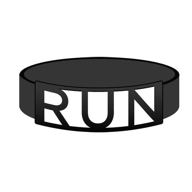 Awolnation Run Silicone Bracelet
