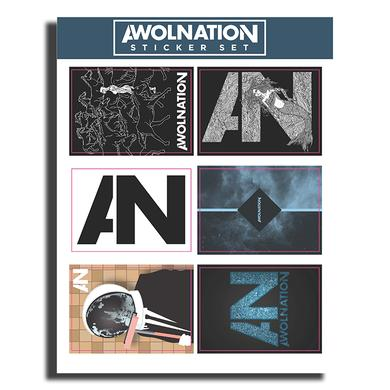Awolnation Sticker Sheet