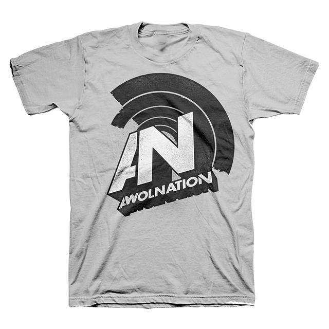 Awolnation Half Circle Logo Tee