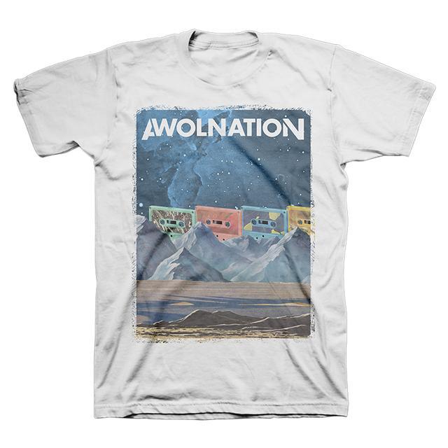 Awolnation Cassette Sky Tee