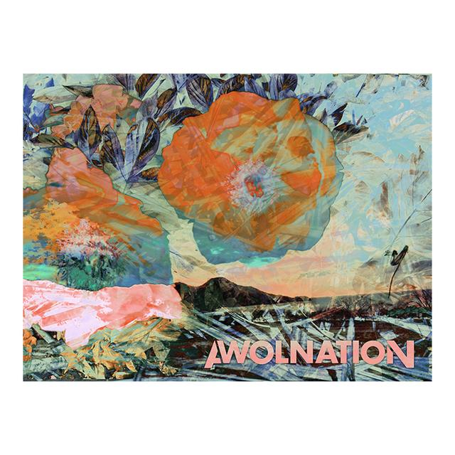 Awolnation Leaf Lithograph