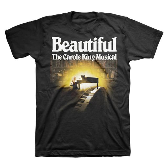 Beautiful Light Piano Logo Tee