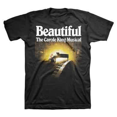 Beautiful Light Piano Logo Tee
