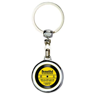 Beautiful BCK Record Spinner Keychain