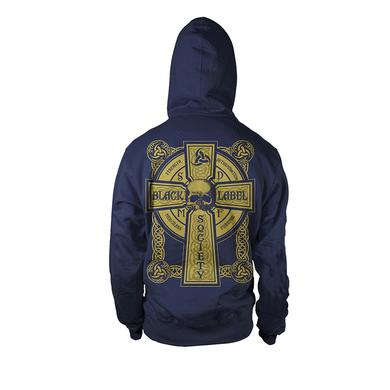 Black Label Society Navy Odin Hoodie