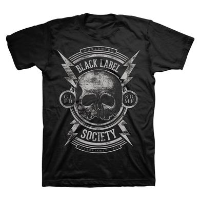 Black Label Society Unblackened Bolts Tour Tee