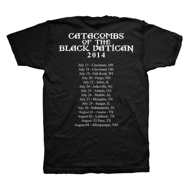 Black Label Society Death Prayer US Tour Tee