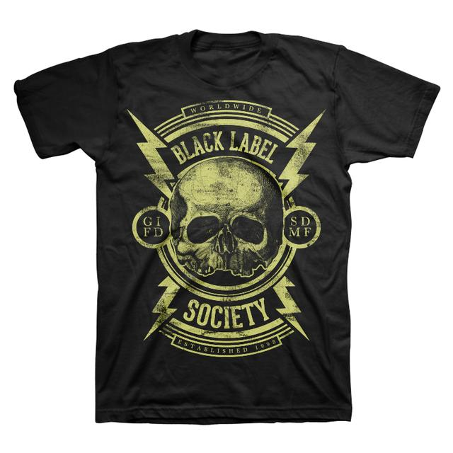 Black Label Society Bolts Canada Tour Tee