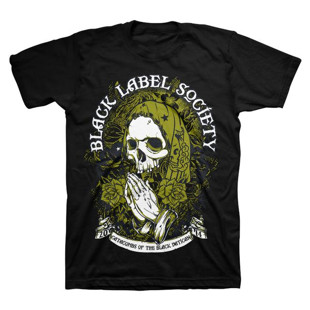 Black Label Society Catacombs Tour Tee