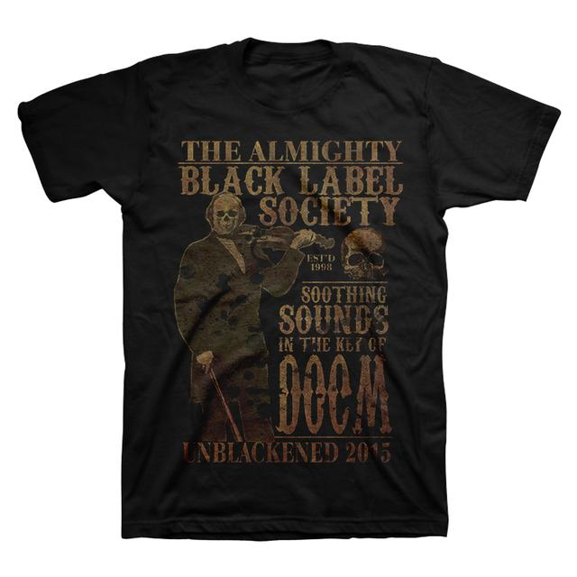 Black Label Society Violin Skull Tour Tee
