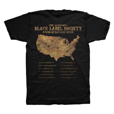 Black Label Society Violin Skull Tour Tee