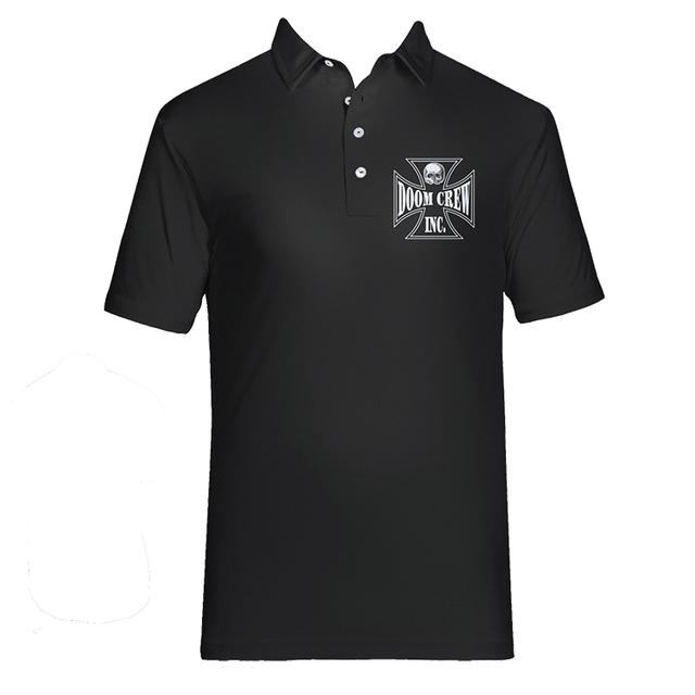 Black Label Society Doom Crew Mens Polo Tee