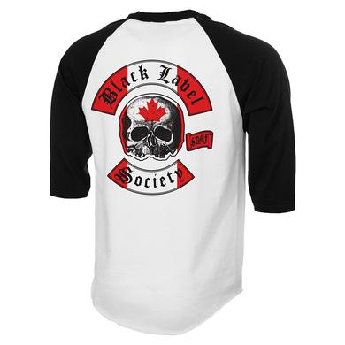 Black Label Society Canadian Chapter Raglan