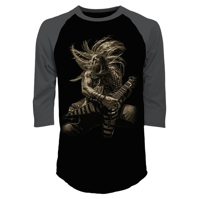 Black Label Society Zakk Wylde Icon Raglan Tee