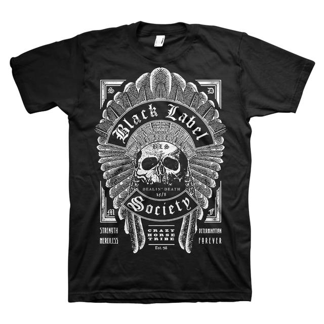Black Label Society Headdress Tee