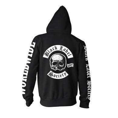 Black Label Society BLS Worldwide Zip Hoodie