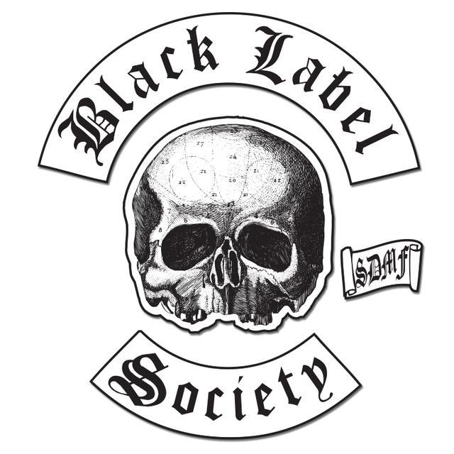 Black Label Society Back Patch Set