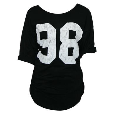 Black Label Society Women's Football Tee