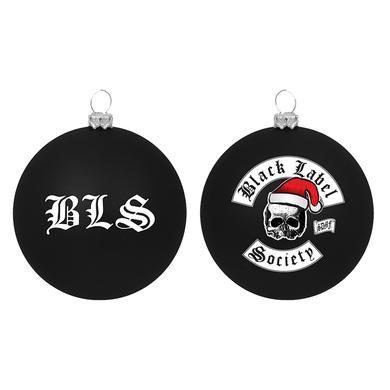 Black Label Society Santa Skully Ornament