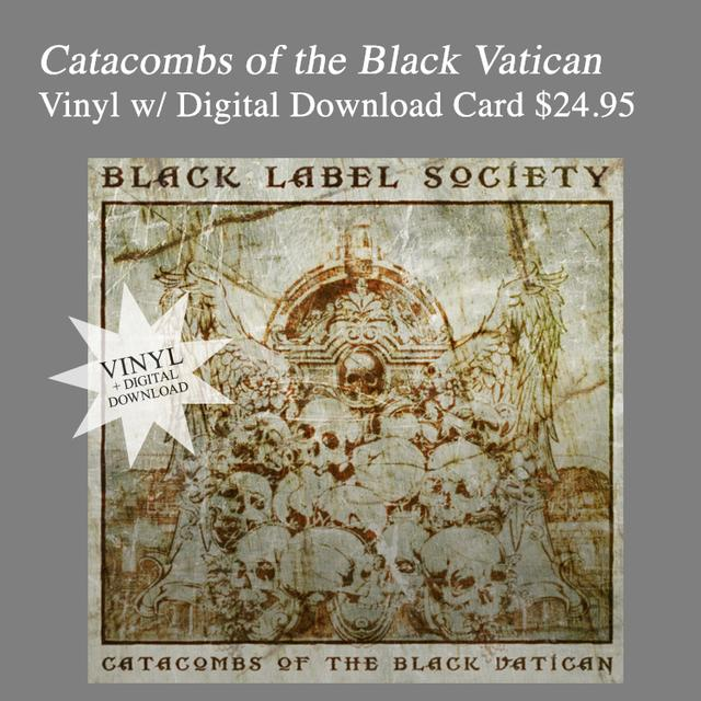 Black Label Society Catacombs Vinyl & Download