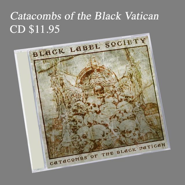 Black Label Society Deluxe Catacombs CD