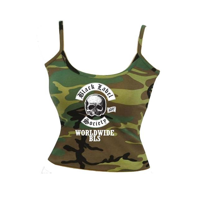 Black Label Society Women's Camo Tank