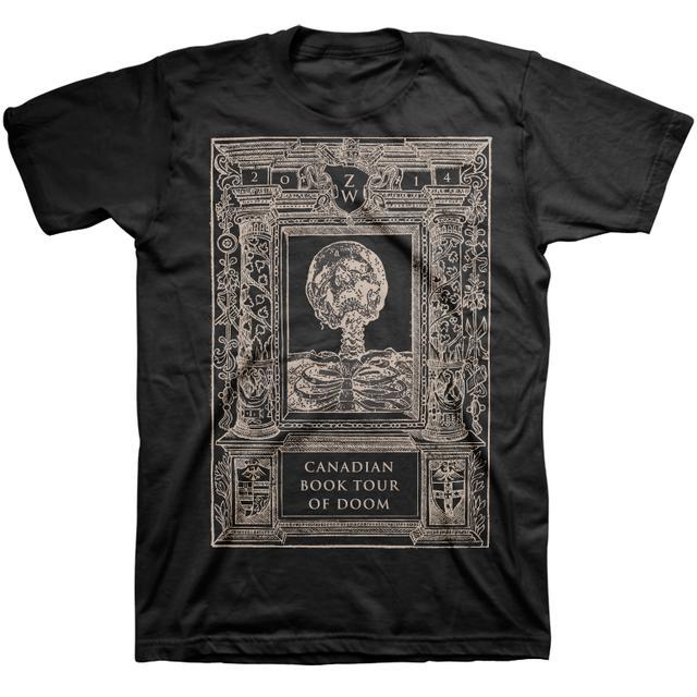 Black Label Society Book Tour Doom Tee