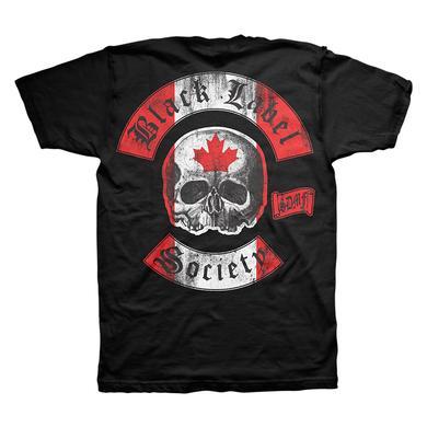 Black Label Society Canadian 2014 Tee