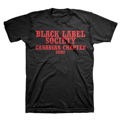 Black Label Society Canadian 2014 Tee