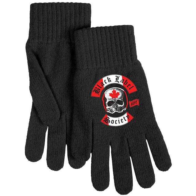 Black Label Society Canadian Gloves
