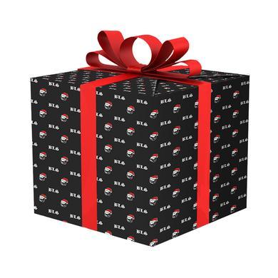 Black Label Society Skully Santa Wrapping Paper
