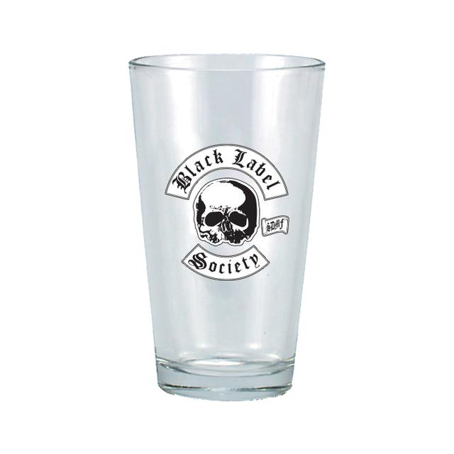 Black Label Society Logo Pint Glass