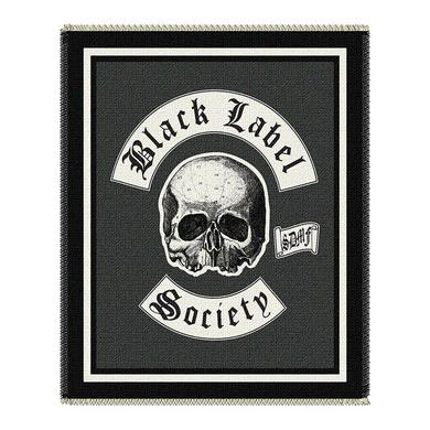 Black Label Society Logo Throw Blanket