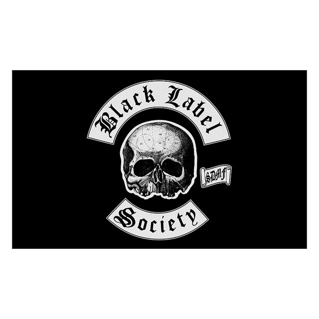 Black Label Society Logo Wall Flag