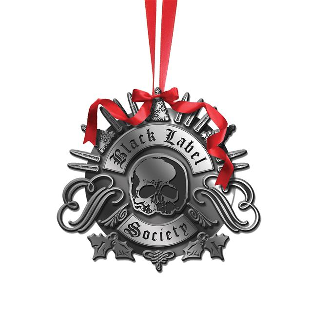 Black Label Society Skully Ornament